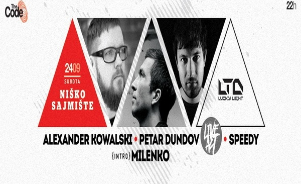 Žurka godine na 'Sajmištu': Lucky Light LTD showcase – Kowalski i Dundov u Nišu!