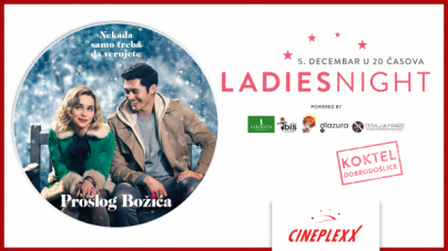 Ladies night uz film 'Prošlog Božića' 5. decembra u bioskopu Cineplexx Niš